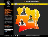 Mamadou Dahoue Website