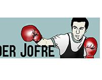 Ilustração digital do lutador Eder Jofre