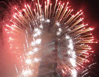 2010 Fireworks Taiwan - 2010 Fireworks Taipei 101