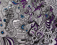 Large Abstract (Purple)