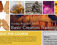 Basic Creation Training Flyer