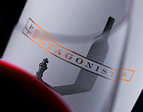 Protagonista - an Amazing Wine Label Design