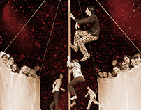 Poster Illustration for Contemporary Circus