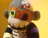 Zombie Sock Monkeys