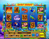 "Online slot machine for SALE - ""Lucky Shores"""