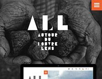 """Appel d'offre """" Autour du Louvre Lens"""""""