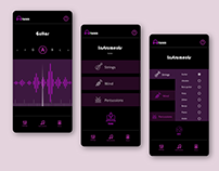 UI Design - Tuner App