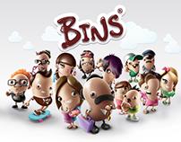 Bins - Character Design