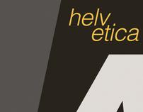 Helvetica Type Study