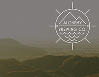 alchemy brewing co. branding