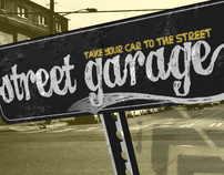 Street Garage: Car parts and accessories kiosk concept