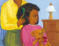 "Illustration for children's book ""Nappy"""