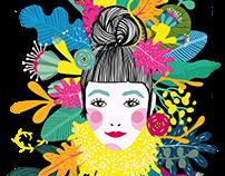 Postkarten Motiv-Illustration // Eigenprojekt
