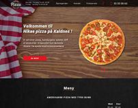 Сайт для пиццерии