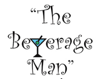 "Logo for Bartender called ""The Beverage Man"""
