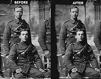 Photo Restoration and Color Correction