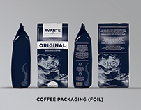 Avante Coffee Packaging