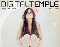 DIGITAL TEMPLE Magazine // XII : The Pose Issue.