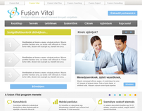 Fusion Vital website