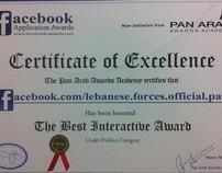 Facebook Excellence Award