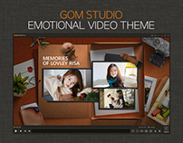 GOM STUDIO emotional video theme
