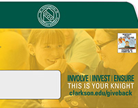 Direct Mail Package for Clarkson University
