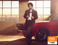 Diljit Dosanjh for FBB