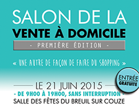 « Salon de la vente à domicile - 2015 » - Flyer