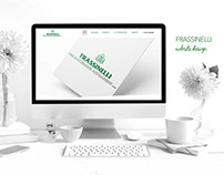 Frassinelli Website Design