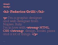 new website.