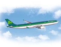 Aer Lingus Airbus A300-330 Pádraig