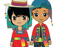Bolivian traditional costumes