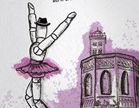 Cartel para Fiestas del barrio de la Magdalena