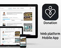 Donation - Web Platform & Mobile App