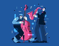 Jazzy Illustration
