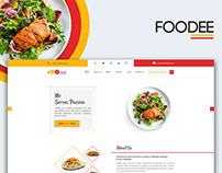FOODEE - Restaurant Website Template