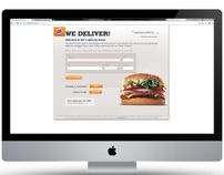 Burger King Delivers Web App
