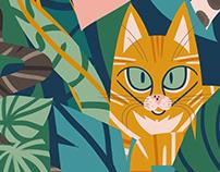 Jungle Cats Portrait