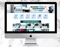 Tiki - Sharp TikiNow Landing page