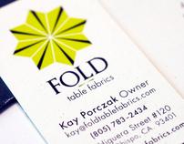 Identity System: FOLD Table Fabrics