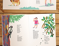 Seasons - illustrations for kid's poetry book