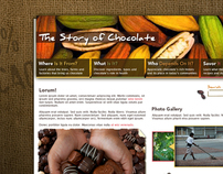 The Story of Chocolate Website