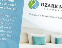 Ozark Mountain Laundry Service Branding & Website