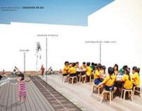 Kindergarten outdoor design proposal 2016