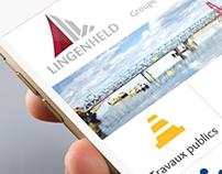 Groupe Lingenheld - Website