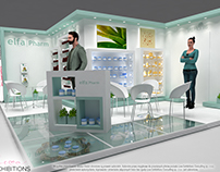 Elfa Pharm exhibition stand design