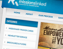 Missions Linked Branding and Website