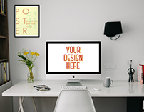 35+ Ultra Realistic Workspace Mockup Design Templates