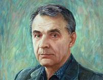 oil painting portrait. part 1
