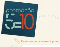 Promoção 5=10